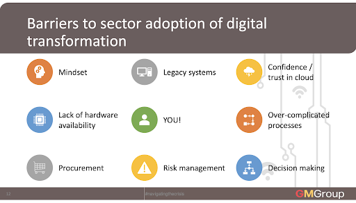 Golden Marzipan barriers to digital adoption
